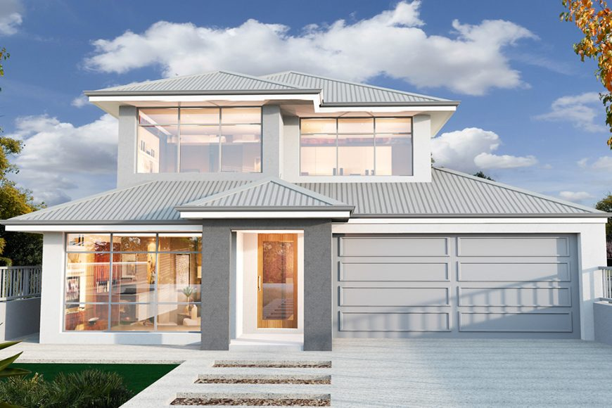 Designs For Wide Blocks Aintree Homes Perth