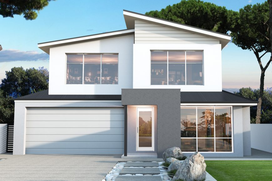 Designs for wide blocks aintree homes perth for 10m wide home designs